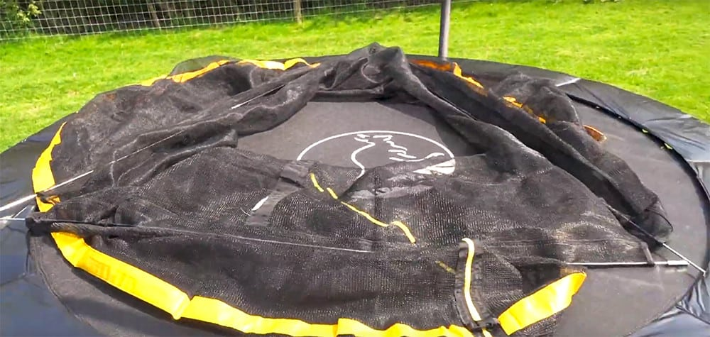 trampoline rods