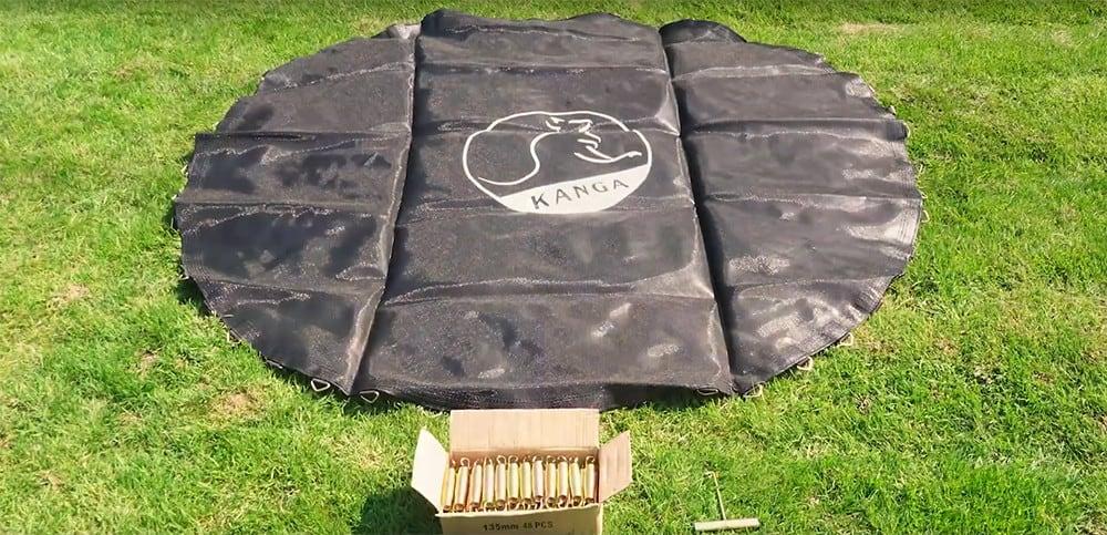 trampoline mat contents